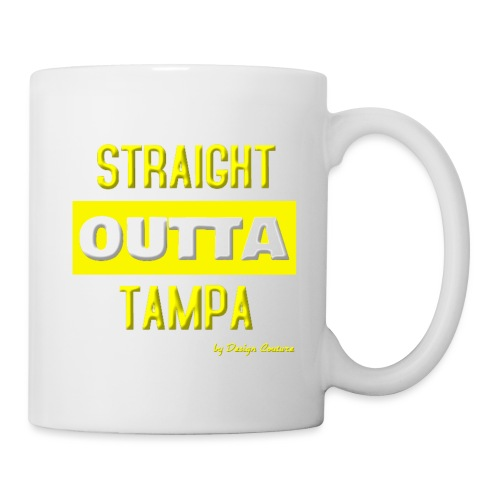 STRAIGHT OUTTA TAMPA YELLOW - Coffee/Tea Mug