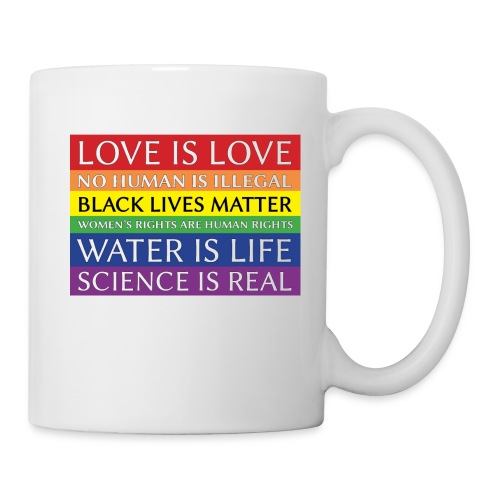 rainbow solidarity - Coffee/Tea Mug
