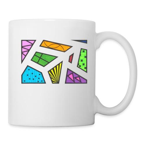 geometric artwork 1 - Coffee/Tea Mug