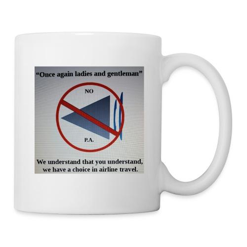 Travel Shirt - Coffee/Tea Mug