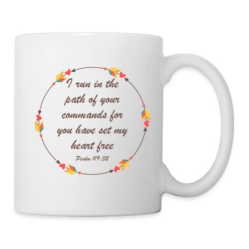 Psalm 119 32 - Coffee/Tea Mug