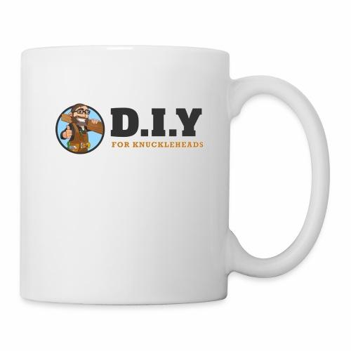 DIY For Knuckleheads Logo - Coffee/Tea Mug