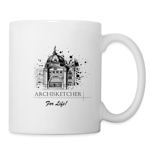 Archisketcher for Life! by Jack L Barton - Coffee/Tea Mug