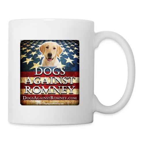 labdogsagainstromneyflag - Coffee/Tea Mug