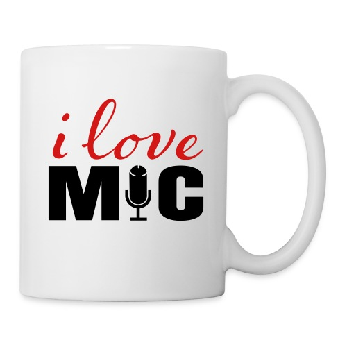 I love Mic T-Shirt - Coffee/Tea Mug