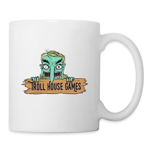 Troll House Games Cartoon Logo - Coffee/Tea Mug