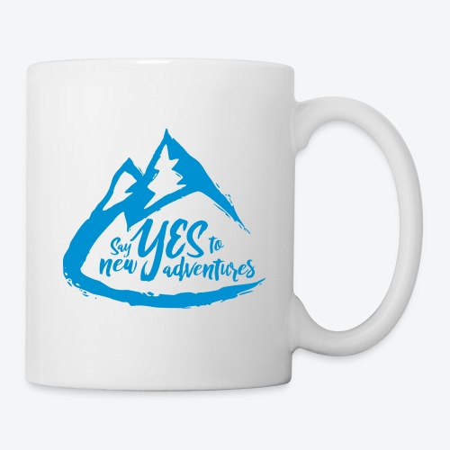 Say Yes to Adventure - Coloured - Coffee/Tea Mug