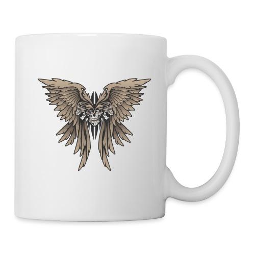Skulls and Wings Illustration - Coffee/Tea Mug