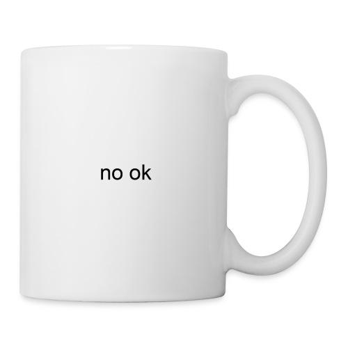 no ok - Coffee/Tea Mug