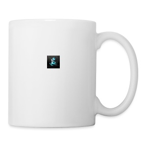 abstract blue dragons blue dragon logos amd 2560x1 - Coffee/Tea Mug