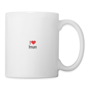 Iman designstyle i love mm - Coffee/Tea Mug
