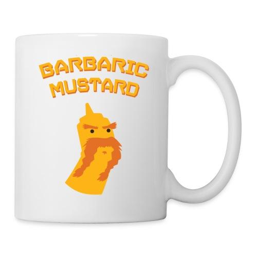 1BarbaricMustard TShirt YellowOrange png - Coffee/Tea Mug