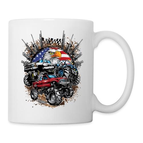 Mega Mud Trucks USA - Coffee/Tea Mug