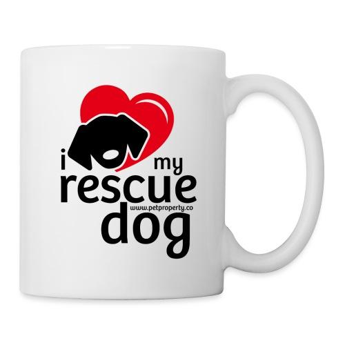 I love my rescue dog - Coffee/Tea Mug