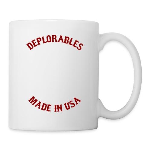 Deplorables - Made in USA - Bikers for Trump - Coffee/Tea Mug