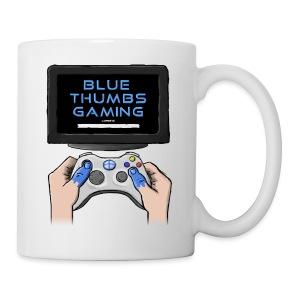 Blue Thumbs Gaming: Gamepad Logo - Coffee/Tea Mug