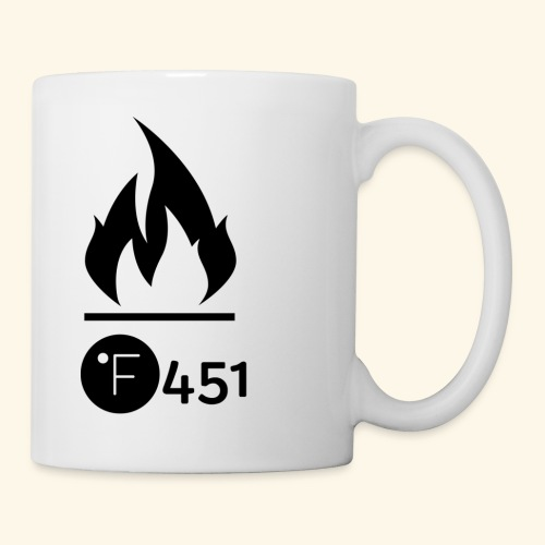 Farenheit 451 - Coffee/Tea Mug