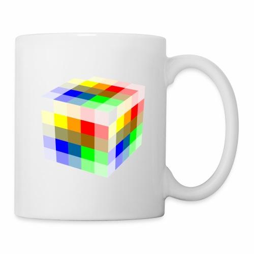 Multi Colored Cube - Coffee/Tea Mug