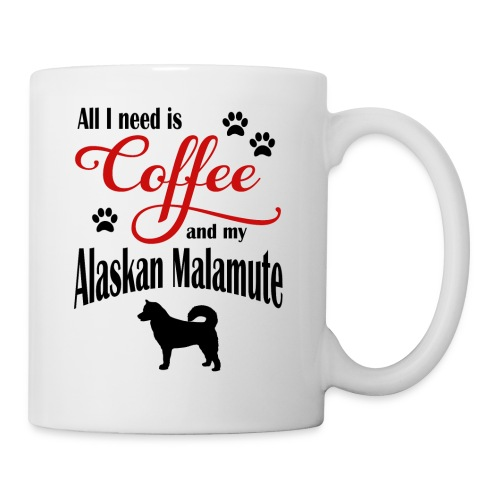 Alaskan Malamute Coffee - Coffee/Tea Mug