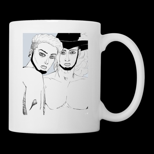 Hakaru + BlackArm Youkai, Gala Edda Collection - Coffee/Tea Mug