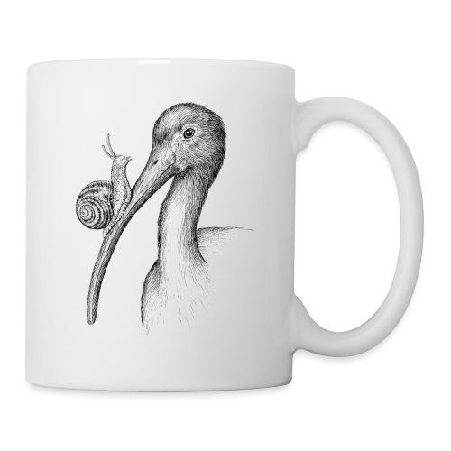 Ibis with Snail by Imoya Design - Coffee/Tea Mug