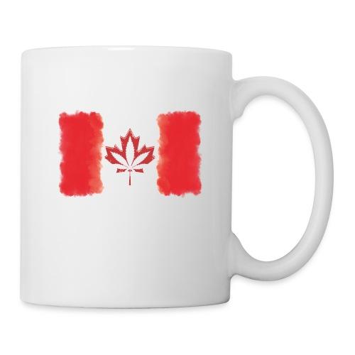 Canadian Flag - Cannabis Smoke Cloud - Coffee/Tea Mug