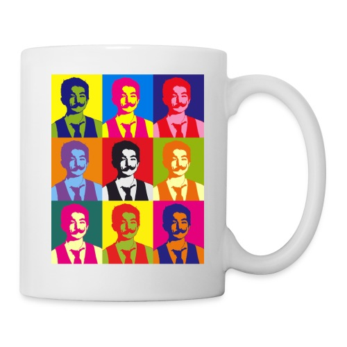 Warhol shirt - Coffee/Tea Mug