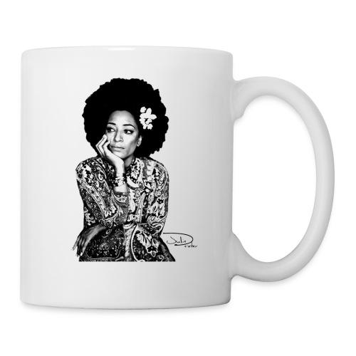 Julie Dexter Afro Flower - Coffee/Tea Mug