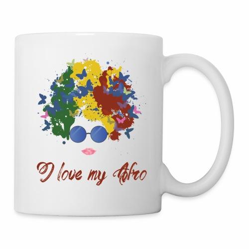 new afro - Coffee/Tea Mug
