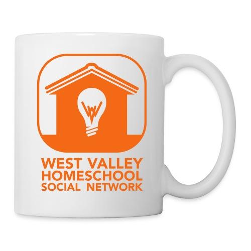 West Valley Homeschool Social Network Logo + Name - Coffee/Tea Mug
