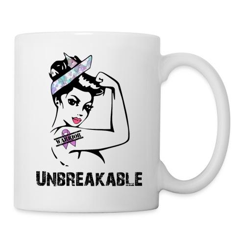 Unbreakable purple warrior - Coffee/Tea Mug