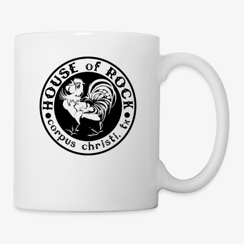 House of Rock round logo - Coffee/Tea Mug