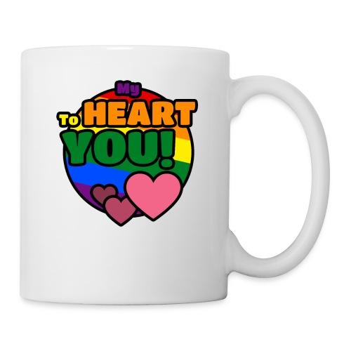 My Heart To You! I love you - printed clothes - Coffee/Tea Mug