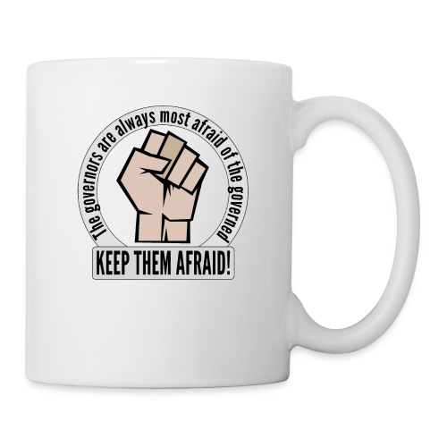 Stand up! Protest and fight for democracy! - Coffee/Tea Mug