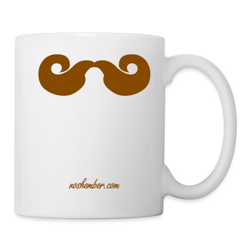 moustache png - Coffee/Tea Mug