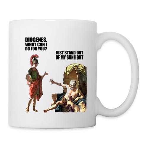 hlalexander and diogene2 black - Coffee/Tea Mug