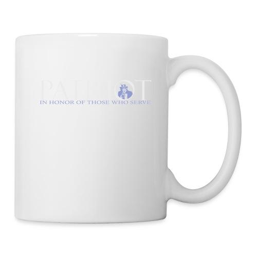 PATRIOT-SAM-USA-LOGO-REVERSE - Coffee/Tea Mug