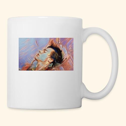 floating painting print - Coffee/Tea Mug