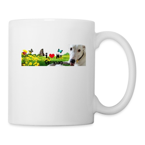 I Love My Greyhound - Coffee/Tea Mug