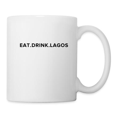 Eat.Drink.Lagos Logo Shirt - Coffee/Tea Mug