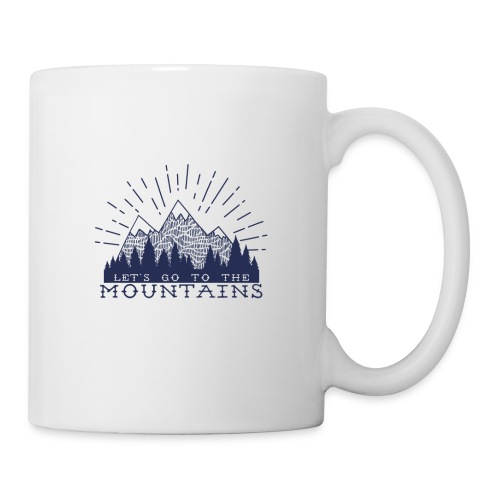 Adventure Mountains T-shirts and Products - Coffee/Tea Mug
