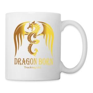 Dragon Born Logo Style 1 Gold - Coffee/Tea Mug