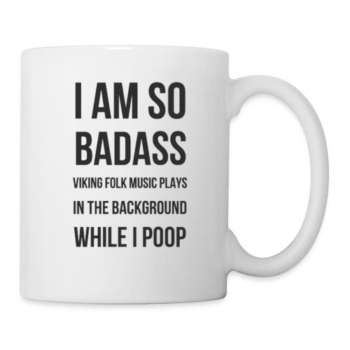 Badass Viking Poop - Coffee/Tea Mug