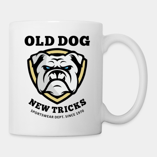 old dog new tricks - Coffee/Tea Mug