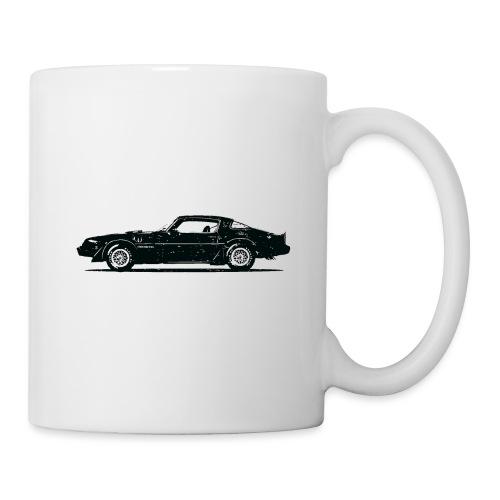 classic car grungy tshirt 01 - Coffee/Tea Mug