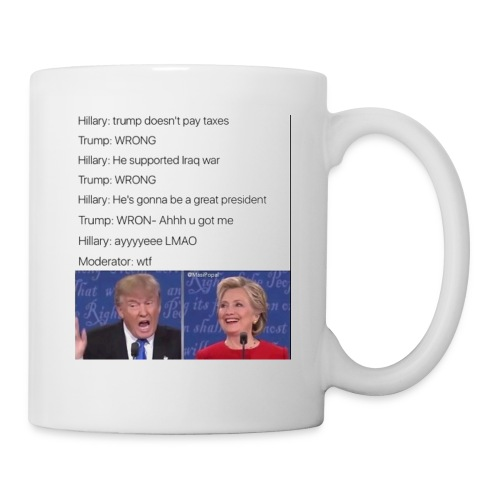 President Donald trump getting played by Hillary - Coffee/Tea Mug