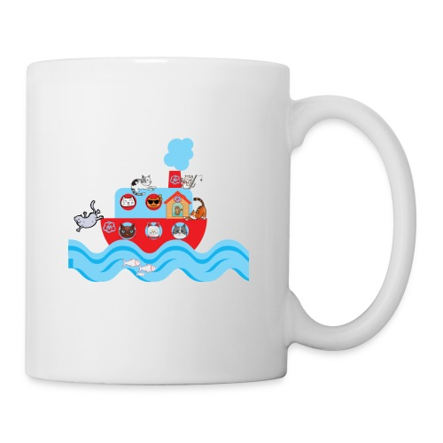 CATS ON VACATION for Kids - Coffee/Tea Mug