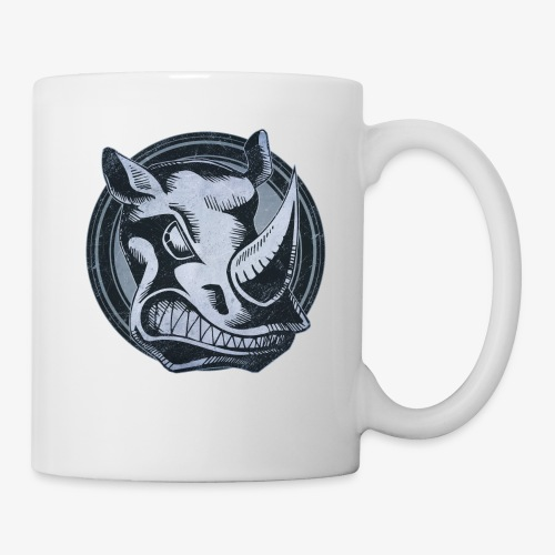 Wild Rhino Grunge Animal - Coffee/Tea Mug