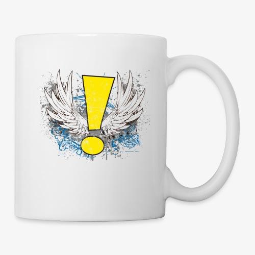 Winged Whee! Exclamation Point - Coffee/Tea Mug