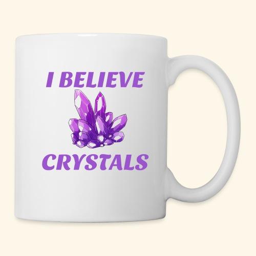 I BELIEVE IN CRYSTALS TEE - Coffee/Tea Mug